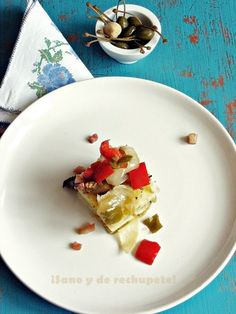 ¡Sano y de rechupete!: Pastel de papa y verduras asadas en 10 minutos