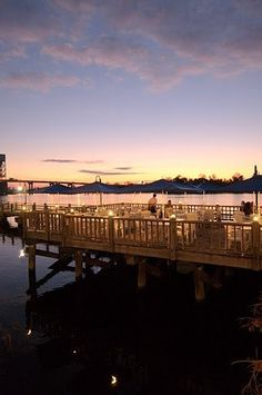 The Pilot House along the Riverwalk boasts delicious seafood and stunning views of the Cape Fear River #RiverLifeIsGood