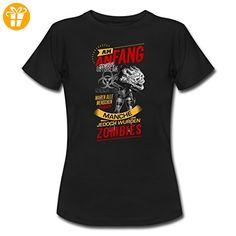 Am Anfang Zombie Response SW RAHMENLOS Shirt Geschenk Weihnachten Frauen T-Shirt von Spreadshirt®, XXL, Schwarz - Shirts zum 30 geburtstag (*Partner-Link)