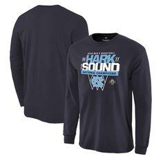 North Carolina Tar Heels Fanatics Branded 2017 NCAA Men's Basketball National Champions Loma Long Sleeve T-Shirt - Navy