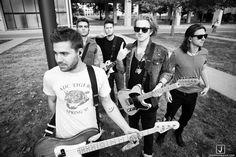 We The Kings. Charles, Travis, Danny, Coley and Hunter.