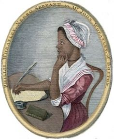 Phillis Wheatley was both the second published African-American poet and first published African-American woman. Born in Senegambia, she was sold into slavery at the age of 7 and transported to North America. African American Poets, African American Literature, American Art, African Americans, American Story, American Women, Native Americans, Goldscheider, Phillis Wheatley