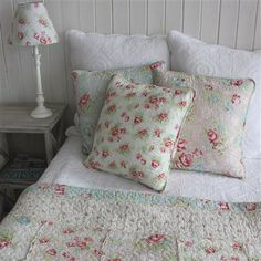 Brand new and beautiful Biggie Best bedding accessories today on ACHICA! Co-ordinate your bedroom with these ranges of bedspreads, cushions and lamps. Nursery Bedding Sets Girl, Queen Bedding Sets, Luxury Bedding Sets, Vintage Shabby Chic, Shabby Chic Decor, Holly Willoughby Bedding, Bed Pillows, Cushions, Linen Bedding