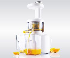 Wonderchef Slow Juicer by Chef Sanjeev Kapoor  Slow juicer is a revolutionary appliance that gives you Wonder Juice. Benefit from the rich taste and nutrition of vegetables and fruits as they are, based on the unique Slow Squeezing Mechanism. Have a glass of Wonder Juice everyday to be healthy and fit. Wonderchef Slow Juicer is Health Insurance for the entire family. Invest in your health today.