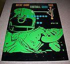 ORIGINAL 1966 Notre Dame MSU Football Guide Excellent - 1966, Dame, excellent, FOOTBALL, Guide, Notre, ORIGINAL