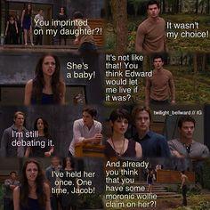 Bella yelling at Jacob