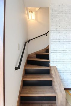 Entryway, Stairs, Room Decor, House Design, Living Room, Home, Houses, Staircases, House Stairs