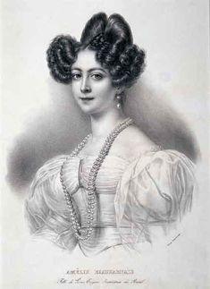 Amélie_of_Leuchtenberg_segunda esposa de D. Pedro I