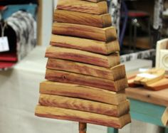 Wine Barrel Stave Christmas Tree by WineryWoods on Etsy