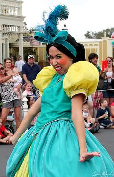 DRIZELLA from Cinderella. Finally, a woman I could actually be at Disney World