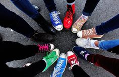 A lot of Converse's