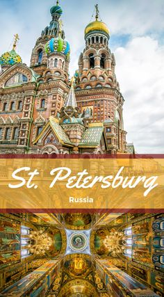 St. Petersburg Russia. One of the world's most beautiful cities, St. Petersburg has all the ingredients for an unforgettable travel experience: high art, lavish architecture, wild nightlife, an extraordinary history and rich cultural traditions that have inspired and nurtured some of the modern world's greatest literature, music, and visual art. Click to read more at http://www.divergenttravelers.com/best-photo-spots-in-st-petersburg-russia/