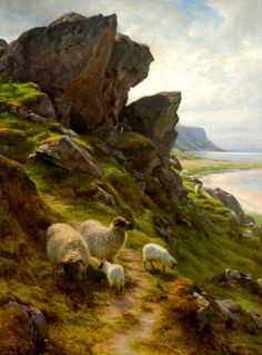 Rugged Pasture , by Joseph Farquharson