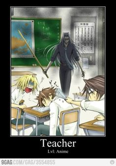 Teachers Lvl: Anime. Can't get any better than this. Japanese animation.