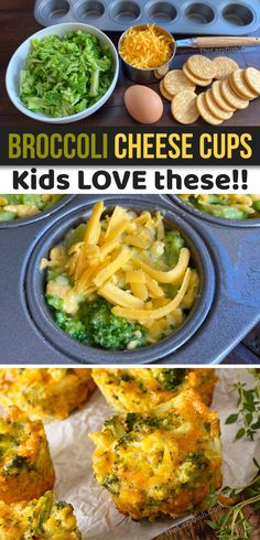 Broccoli Cheese Cups (A quick, easy & healthy snack idea for kids!) easy snacks Broccoli Cheese Cups (A quick, easy & healthy snack idea for kids! Healthy Meals For Kids, Easy Healthy Recipes, Quick Easy Meals, Kids Meals, Cheap Healthy Snacks, Quick Recipes, Easy Homemade Snacks, Easy Snacks, Broccoli And Cheese