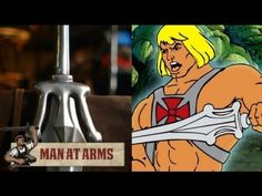 He-Man Sword by Man at Arms