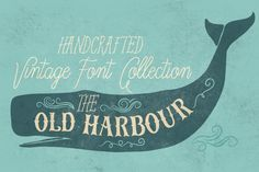 A collection of 12 carefully crafted vintage style fonts, in a limited introductory price.