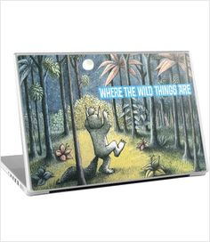 Where The Wild Things Are Laptop Skin - PC - 17""