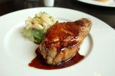 Black foot pork chop Dinner by Heston Blumenthal