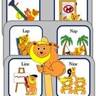 Auditory discrimination and articulation task based on minimal pairs /l/ and /n/. What's included? 6 uniquely illustrated minimal pair cards (light...
