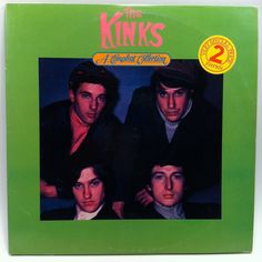 The Kinks A Compleat Collection Vinyl Record 2 LP Compilation 1984 Classic Rock…