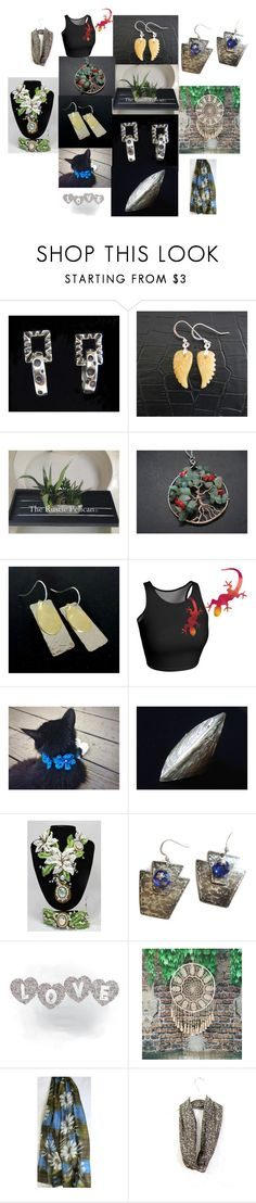 Lots of Gifts-Lots of Love by anna-recycle on Polyvore featuring Dian Malouf, modern, rustic and vintage