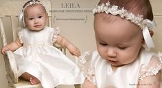 The Leila Christening Dress & Baptism Outfits Collection for Girls