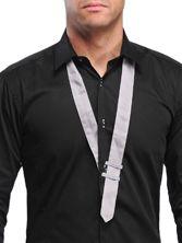 Chemise homme noire Gray Design Tie
