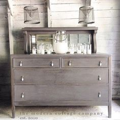 Dresser in Driftwood Milk Paint | General Finishes Design Center