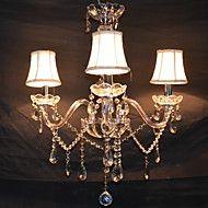 Max 40W Contemporain Cristal Plaqué Lustre Salle de séjour / Chambre à coucher / Salle à manger – USD $ 175.70