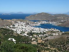 Patmos, Greece. Our honeymoon