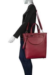 Estarer Women Leather Tote Bag For Work