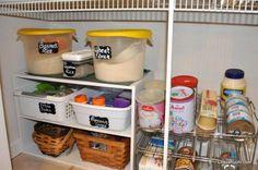 Pantry Organization in kitchen Kitchen Shelves, Kitchen Cart, Wheat Rice, Home Management, Pantry Organization, Improve Yourself, Articles, Home Decor, Kitchen Racks