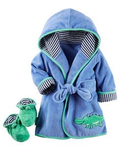 Baby Robes – Baby and Toddler Clothing and Accesories Baby Outfits, Toddler Outfits, Kids Outfits, Carters Baby, Pregnancy Fashion Winter, Little Man Style, Kids Robes, Baby Gown, Future Baby