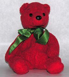 d7a30f582d1 Ty Beanie Baby Babies Mistletoe the Bear 2001 Pooh Bear