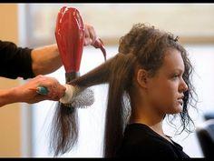 Técnica para secar el cabello profesionalmente con el cepillo redondo!
