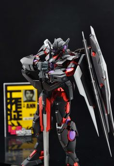 "Custom Build: MG 1/100 00 Quanta ""Dark Scheme"" - Gundam Kits Collection News and Reviews"
