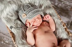 Baby Boy Hat Newsboy Baby Cap with Brim by TwoLittleAngelsEtsy, $20.00