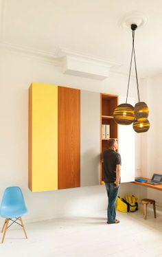 a071ec003c6244 the hanging wardrobe Meubles Sur Mesure, Meuble Bureau, Style Art Déco,  Placard,