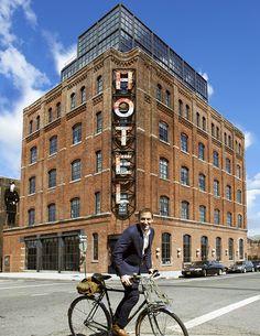 Wythe Hotel, 80 Wythe Avenue at N. 11th Williamsburg, Brooklyn