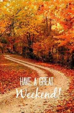 Have a great weekend! Relax and enjoy yourself! Beautiful World, Beautiful Places, Trees Beautiful, All Nature, Belle Photo, Fall Halloween, Pretty Pictures, The Great Outdoors, Paths