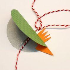 Färgglad papperspippi - Slöjd-Detaljer Mall, Crafts For Kids, Tips, Creative Crafts, Easter, Pictures, Kids Arts And Crafts, Kid Crafts, Craft Kids