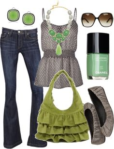 """the grass is always greener"" by htotheb ❤ liked on Polyvore"