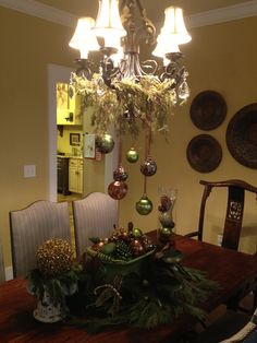 Dining Room - Christmas Decor