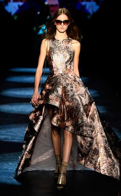 Monique Lhuillier from New York Fashion Week Fall 2016: Best Looks | E! Online