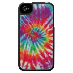 Tie Dye iPhone 4 Case