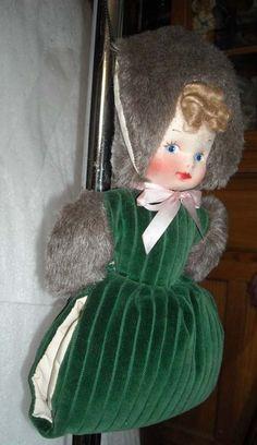 Little girl's vintage hand muff