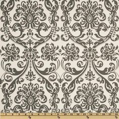 "Two  96"" x 50""  Custom  Drapes -   Damask Charcoal/ GreyWhite by onlylinens on Etsy https://www.etsy.com/listing/93929093/two-96-x-50-custom-drapes-damask"