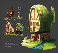 The Fish Haus by artofkim.deviantart.com on @deviantART