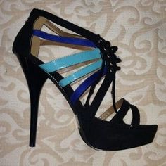 I just discovered this while shopping on Poshmark: Sexy colorblock stiletto with hidden platform. Check it out!  Size: 9